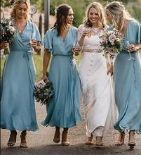 2019 Sexy Women Bridesmaid Dresses Robe Demoiselle D'honneur Wedding Guest Dress Long Dress