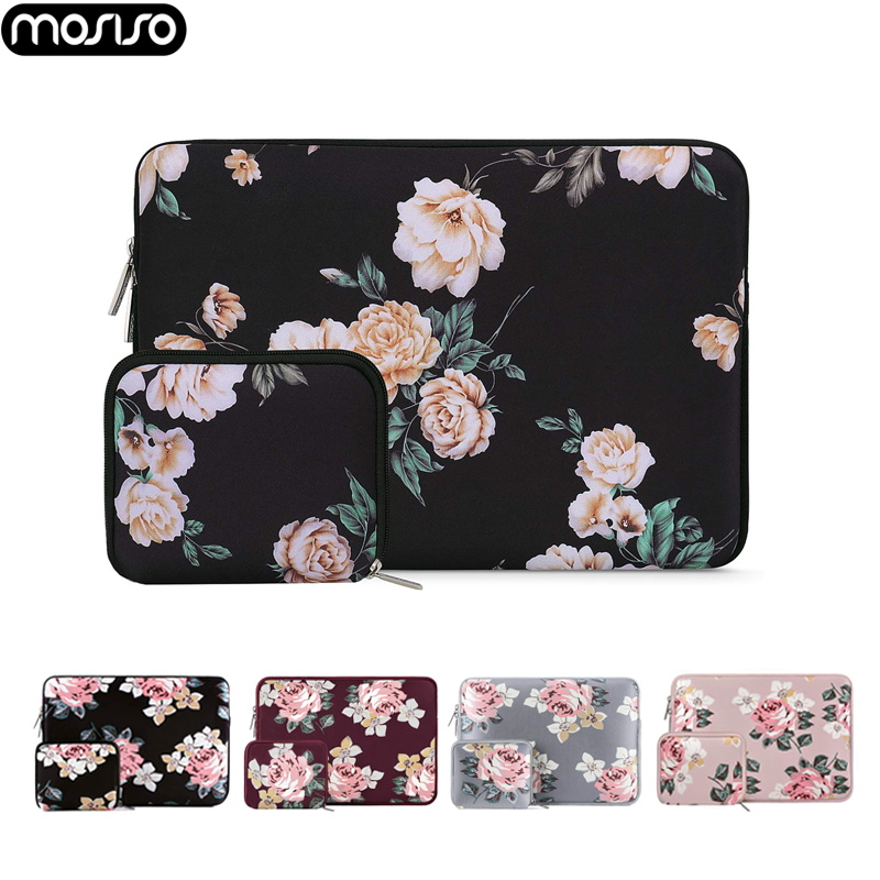 MOSISO 11.6 12 13 13.3 14 15.6 Inch Laptop Bag Sleeve Waterproof Notebook Sleeve Bag For Macbook Dell Asus HP Acer Laptop Case