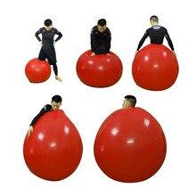 Красные овальные латексные шары 72 дюйма для свадьбы, дня рождения, вечеринки, Декор, гелиевые большие гигантские шары, надувной воздушный шар, воздушный шар для выступлений