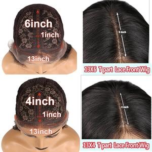 Image 5 - KRN 99J 13x6 dantel ön peruk insan saçı bordo renkli İnsan saç kıvırcık peruk ücretsiz bölüm brezilyalı dantel Remy peruk kadınlar için 180%