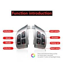 نمط جديد لسوزوكي سويفت 2005 2016 ل SX4 2006 2013 كومبيناتيو التبديل متعددة الوظائف عجلة القيادة زر التبديل الصوت