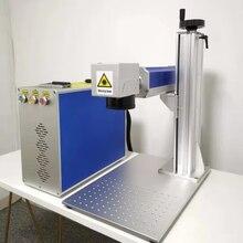 Machine de marquage laser à fibre 30W Raycus, graveur sur métal rotatif, bon prix, offre spéciale, 2021