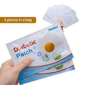 Image 2 - 120 pces = 20 sacos diabético remendo ervas chinesas estabiliza o nível de açúcar no sangue mais baixo glicose no sangue açúcar equilíbrio médico gesso d1809