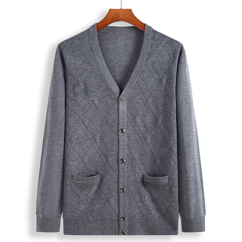 New Men Sweaters Cardigan Plus Size 6xl 7xl 8xl Men Sweater  Quality Knitted Sweatercoat Warm Cardigan Masculino