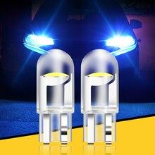 2 uds W5W 194 T10 vidrio vivienda Cob bombilla LED de coche para Mercedes Benz A B C E GLA La CIA GLK GL ML GLE clase BMW X1 X3 X4 X5