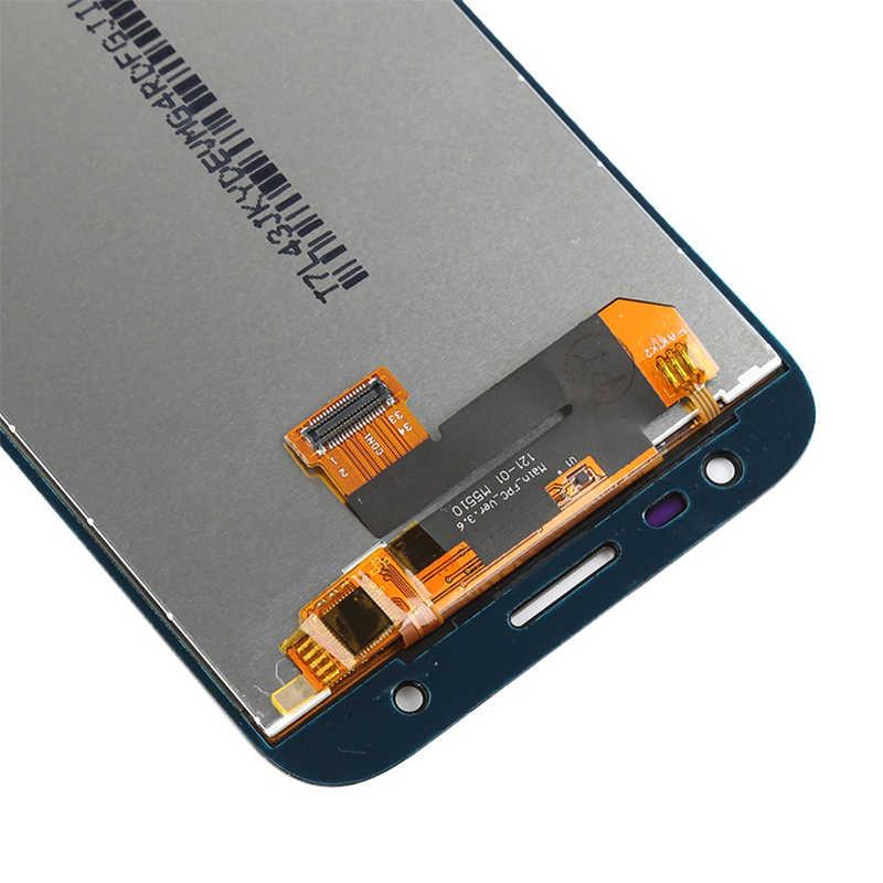 5 個用のサムスンギャラクシー J3 2017 液晶 J330 SM-J330F J330G Lcd ディスプレイとタッチスクリーンデジタイザ国会交換