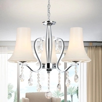 Modern Minimalist Led Pendant Light Country Painting Feature For Crystal Metal Living Room Bedroom Dining Room pendant lights