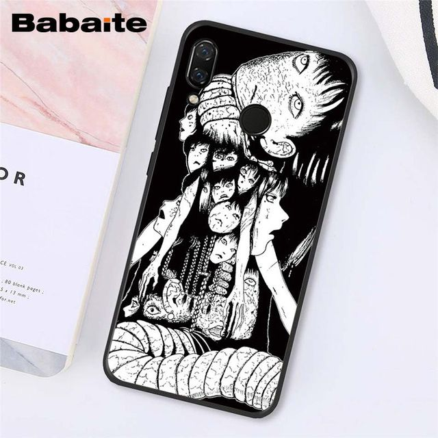 Babaite Junji Ito Tees Horror Phone Case for Xiaomi Redmi8 4X 6A S2 Go Redmi 5 5Plus Note4 5 7 Note8Pro