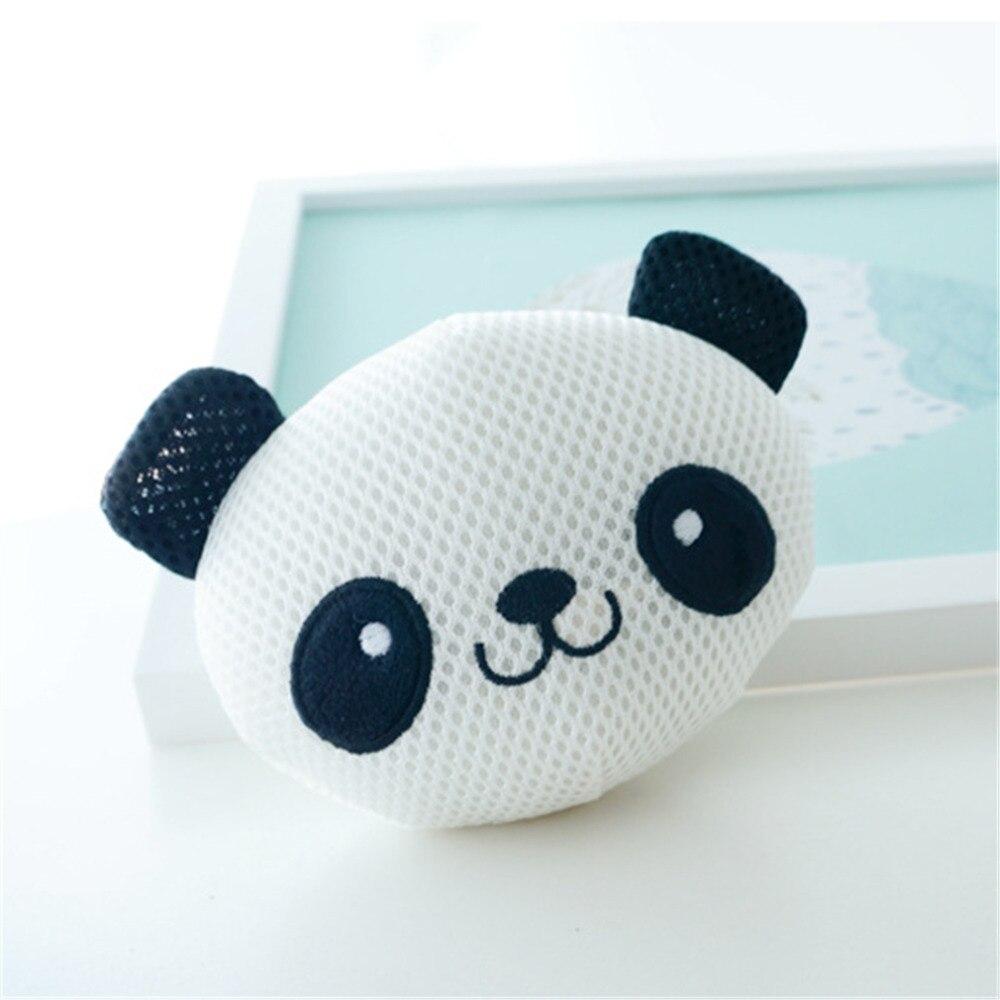 Cartoon Panda Bath Wipe For Baby Shower Supplies Bathroom Newborn Bath Wipe Infant Bath Ball Sponge Super Soft Baby Care