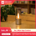 Yee светильник Smart Candela светильник 6 Вт светодиодный беспроводной Mijia App контроль желтый Домашний Светильник для атмосферы лампа для спальни н...