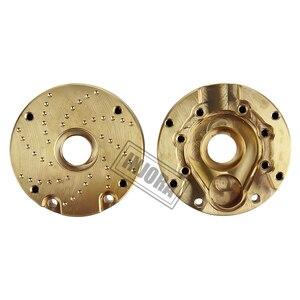 Image 2 - INJORA 2 pièces TRX4 laiton contrepoids poids poids portail boîtier dentraînement pour 1:10 RC chenille Traxxas TRX 4 TRX 6