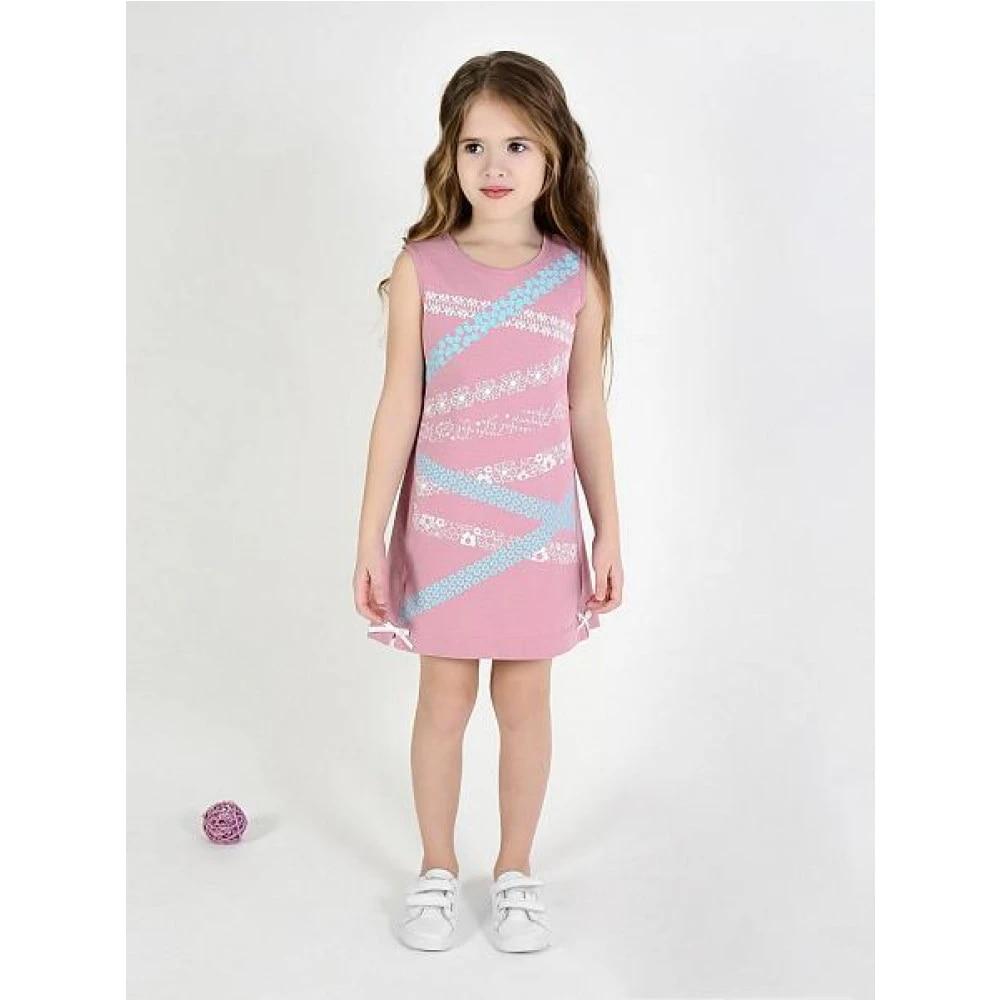Платье Мамуляндия, для девочки, темно-розовое