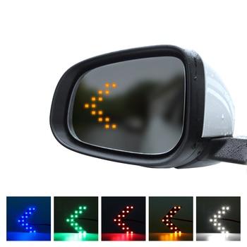2pcs Car LED Rear Mirror Light for BMW F20 F21 F31 G31 F11 E61 E60 X1 F48 X2 F39 X3 G01 F25 E83