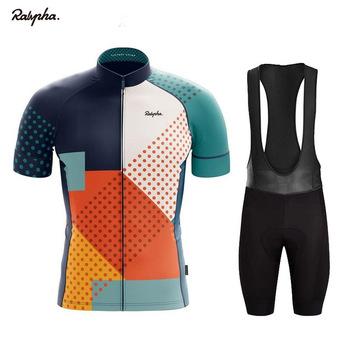 2021 lato szosowe odzież rowerowa Ralvpha RCC męska z krótkim rękawem zestaw koszulek odzież rowerowa MTB Uniform dla drużyny tanie i dobre opinie maisaily CN (pochodzenie) 100 poliester polyester Bezpośrednia sprzedaż z fabryki 80 poliestru i 20 materiału Lycra