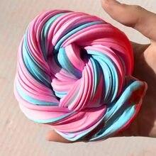 Argile visqueuse colorée 3D pour bricolage, jouet anti-stress parfumé, couleurs arc-en-ciel, jouets en Plasticine pour enfant