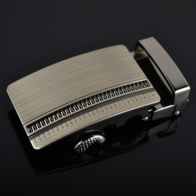 Genuine Men's Belt Head, Belt Buckle, Leisure Belt Head Business Accessories Automatic Buckle Width3.5CM Luxury Fashion LY1287-3