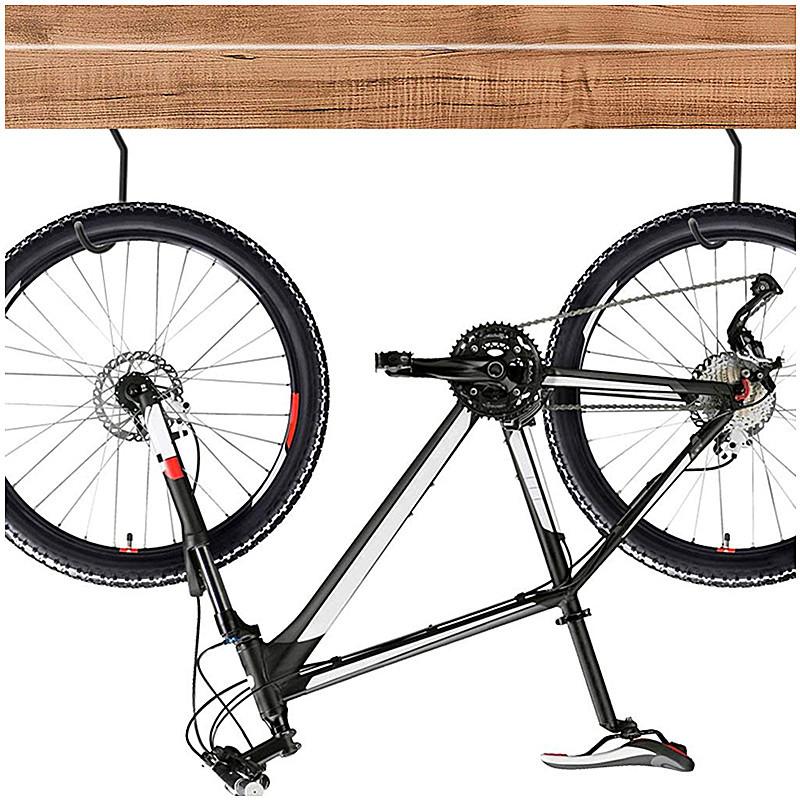 Bike Stand 2pcs Large Road Bicycle Storage Hooks Wall Mount Holder Hangers