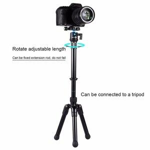 Image 4 - ขายปลีกPuluzสำหรับกล้องอุปกรณ์เสริมมือถือปรับ3/8นิ้วสกรูขาตั้งกล้องMonopodขยายสำหรับDslr Slr