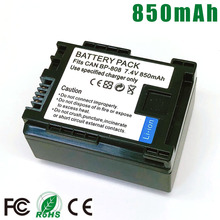 BP-808 BP-827 BP808 BP827 BP 808 827 Battery For Canon BP-809 BP-819 FS200 FS21 FS22 FS100 FS10 FS11 HF200 HF20 HFS100 S10 FS300