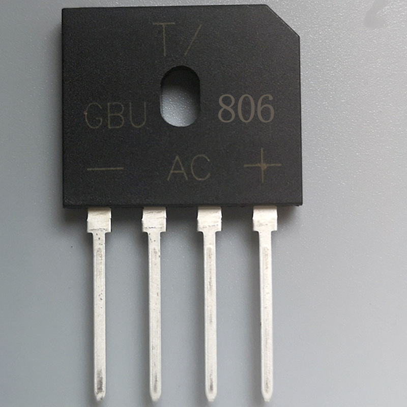 Manufacturers Direct Selling GBU 806 Bridge Rectifier GBU Package 8A600V Bridge Rectifier GBU 806