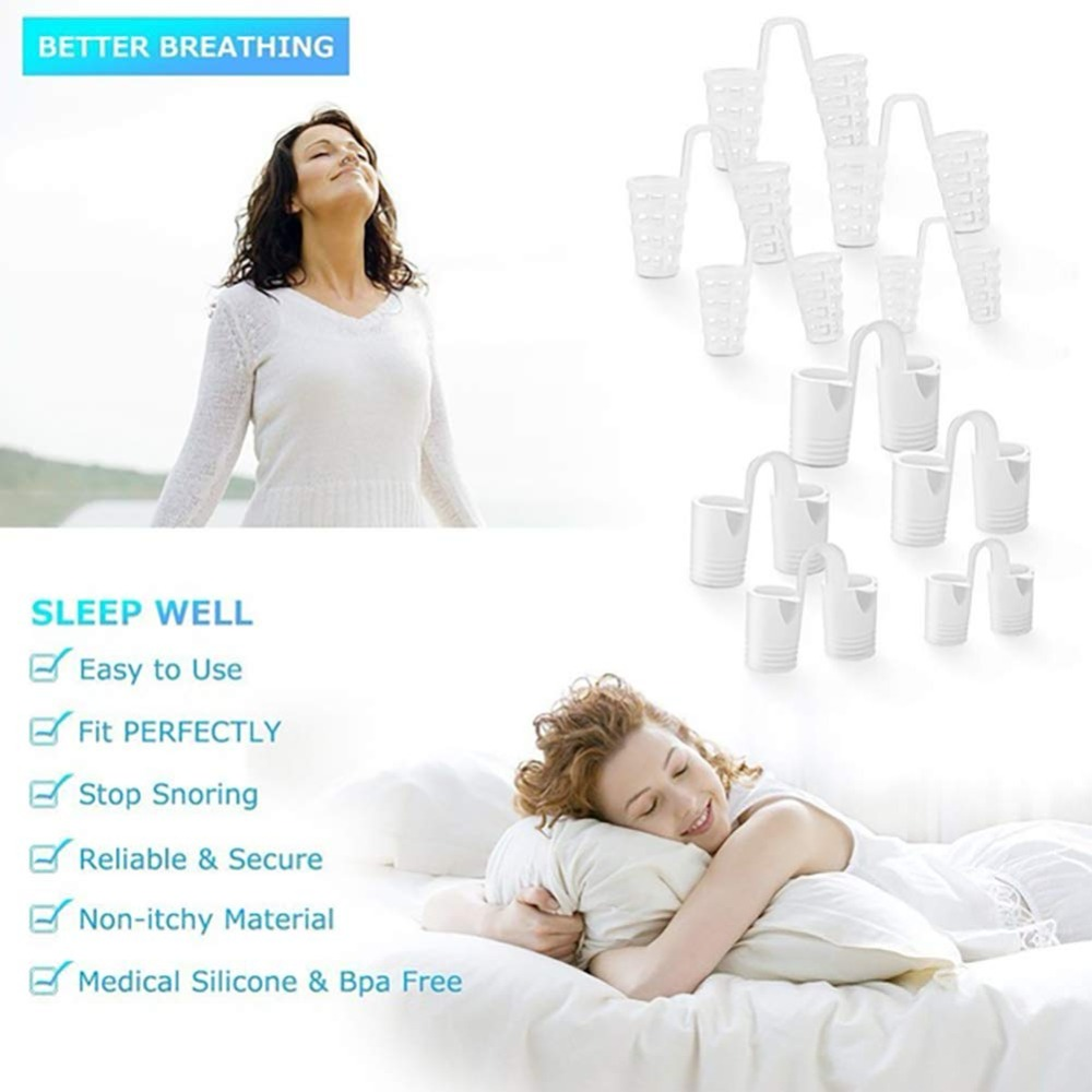 8PCS per set Anti Snoring Devices in Advanced Tubular shape for Snoring Solution 4