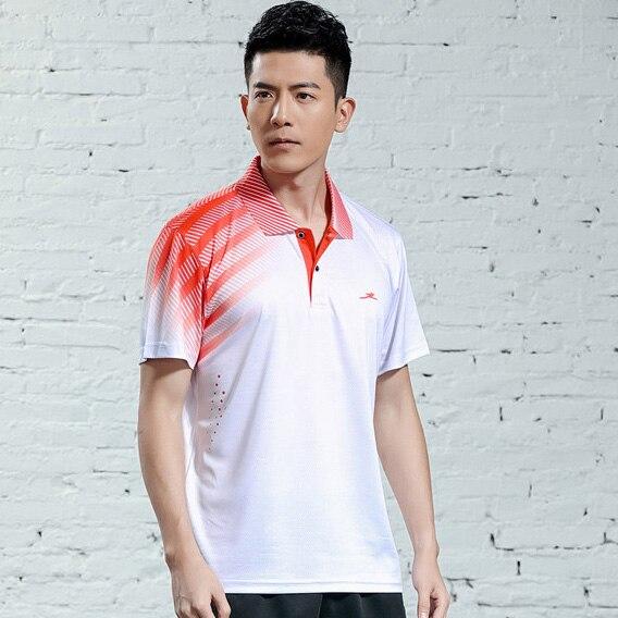 V-образная горловина, короткий рукав, форма для настольного тенниса, один топ для мужчин и женщин, летняя одежда для учеников средней школы, студентов средней школы - Цвет: A2622male3