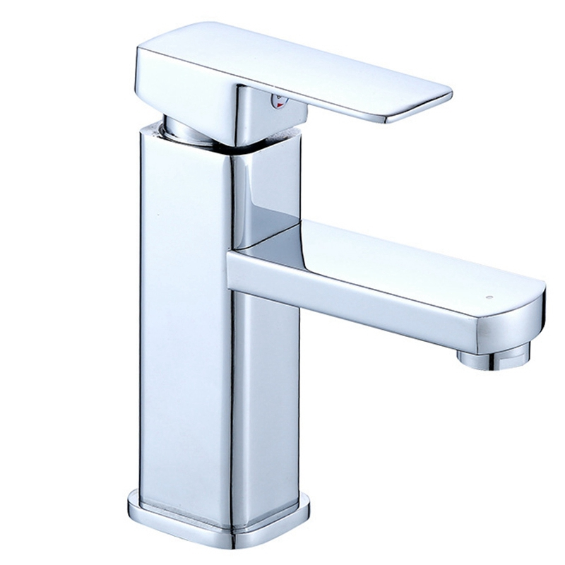 Single Handle Kitchen Bathroom Basin Sink Hot and Cold Water Mix Faucets Washbasin Tap Faucet Extenders     - title=
