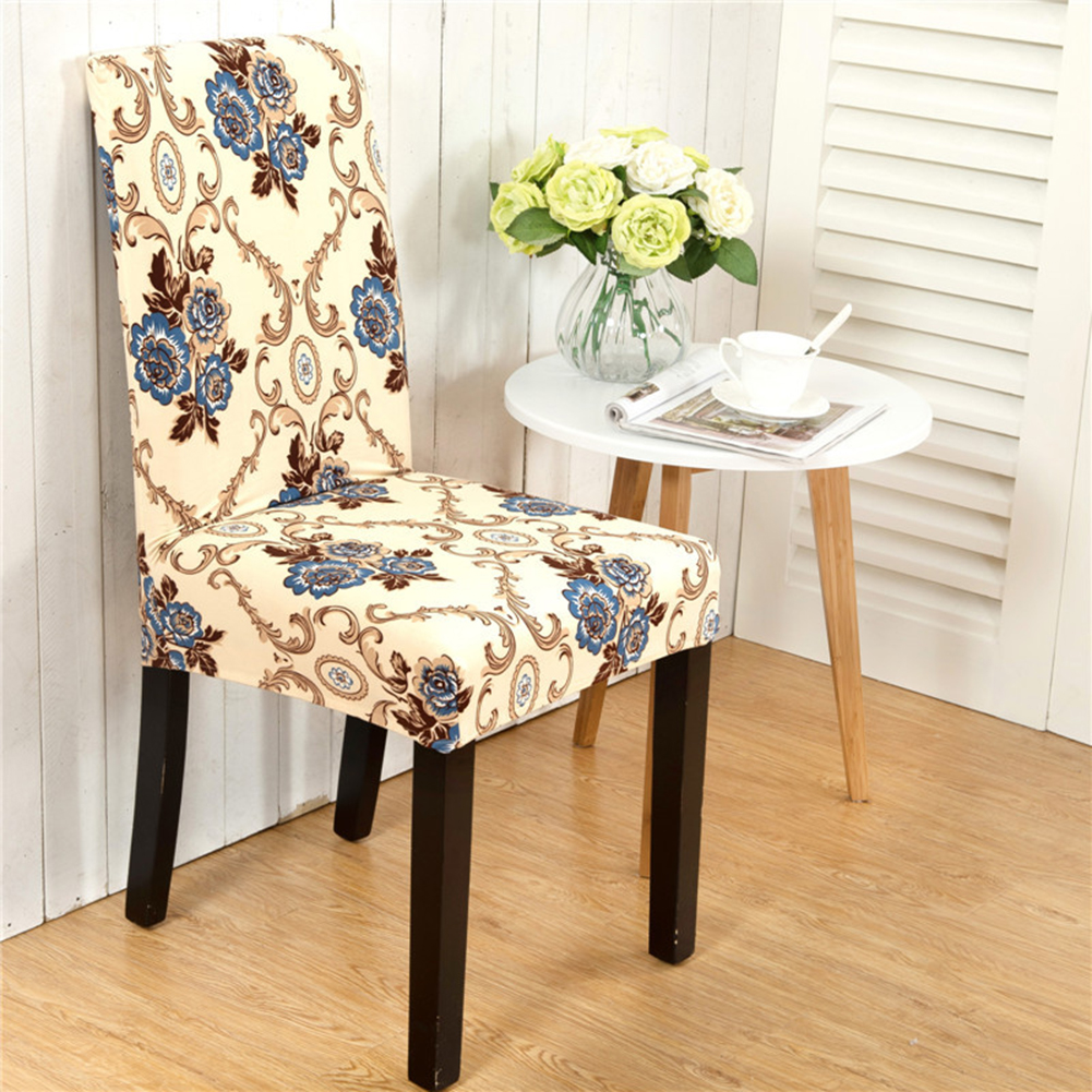 40x60cm Anti Fouling Household Chair Hotelelastic Chair Cover Comfortable Office Computer Seat Beautiful Cover Fashion New in Tablecloths from Home Garden