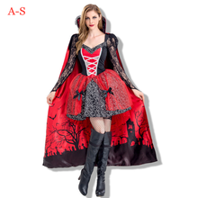 Halloween New Cosplay Vampire Queen Costume Party Stage Performance Demon Costumes