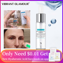 VIBRANT GLAMOUR Hyaluronic Acid Face Serum Anti-Aging Shrink Pore Whitening Mois