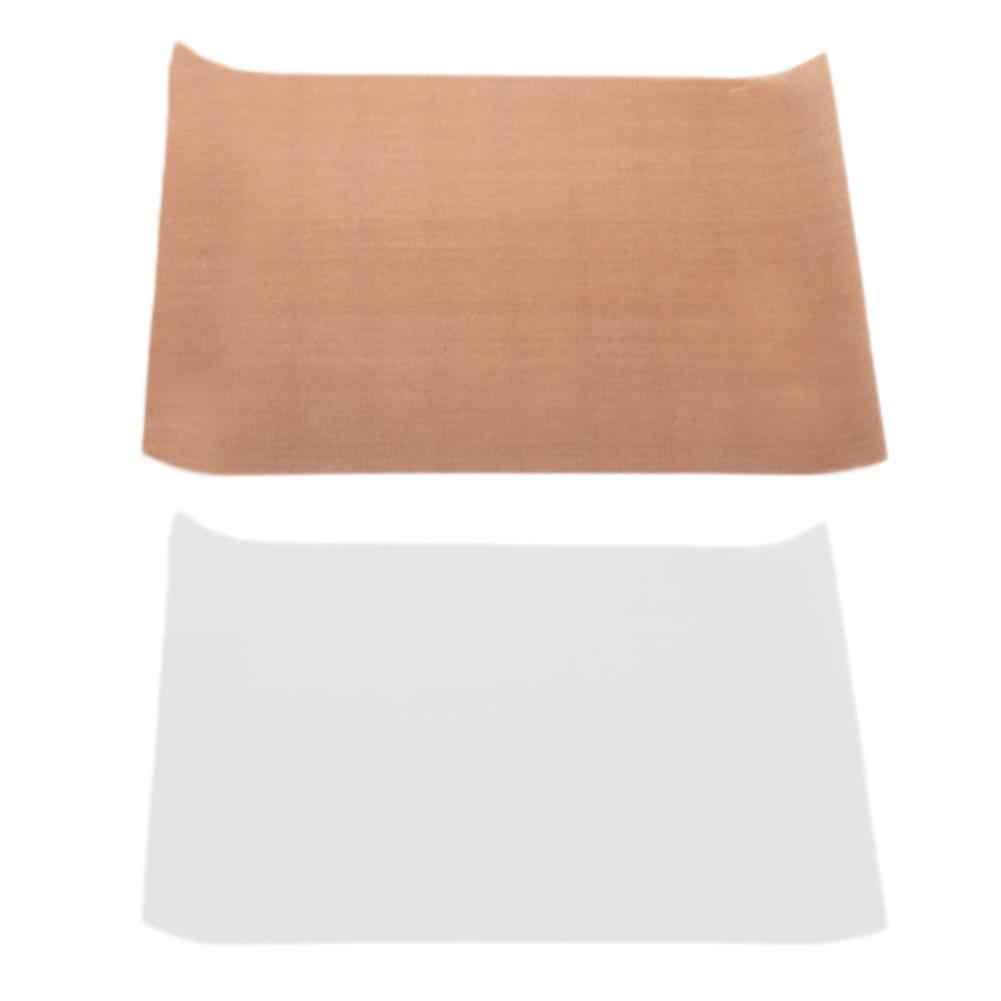 Teflon sıcak pres Transfer kullanımlık pişirme Mat yapışmaz süreci Pad isıya dayanıklı kolay temizlenebilir izgara ve pişirme mat
