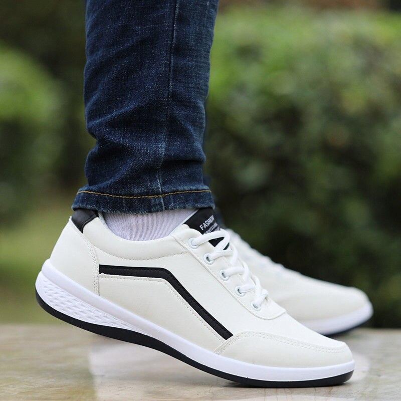 Hommes chaussures affaires chaussures décontractées pour homme PU cuir chaussures 2020 baskets homme mode mocassins marche chaussures Zapatos De Hombre   AliExpress
