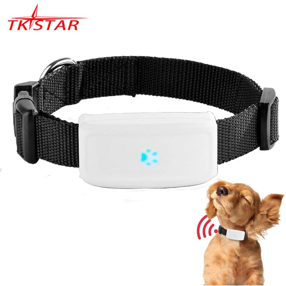 TKSTAR-Localizador de perro por GPS para mascotas, dispositivo de alarma de seguimiento en tiempo Real, WiFi, GPS, LBS, rastreador MiNi GPS, GSM