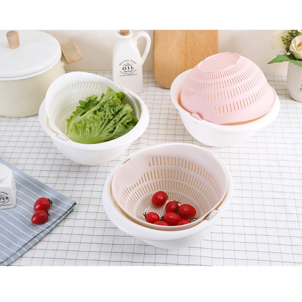Double-Layer Drain Basket, iBuyXi.com, Kitchenware