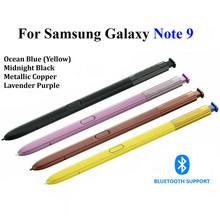 Substituição original do estilete para samsung galaxy note 9 s caneta bluetooth stylus remoto capacitivo oem novo com logotipo