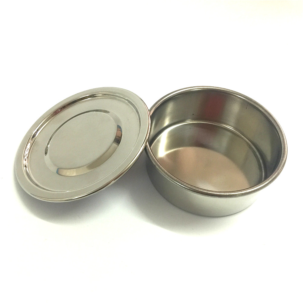 Lid And Bottom For Test Sieve Diam. 10cm 304 SUS Cover And Container For Laboratory Sampling Inspection Pharmacopeia Sieve R10cm