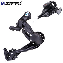 Bicicleta mtb r70 1x10 10 velocidade traseira shifter desviador groupset para peças m610 m670 x5 x7 único sistema de chainset 10s