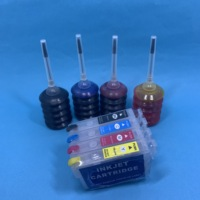 Yotat t34xl cartucho de tinta recarregável 34xl com chip arc t3471 t3472 t3473 t3474 para epson workforce pro WF-3725DWF WF-3720DWF