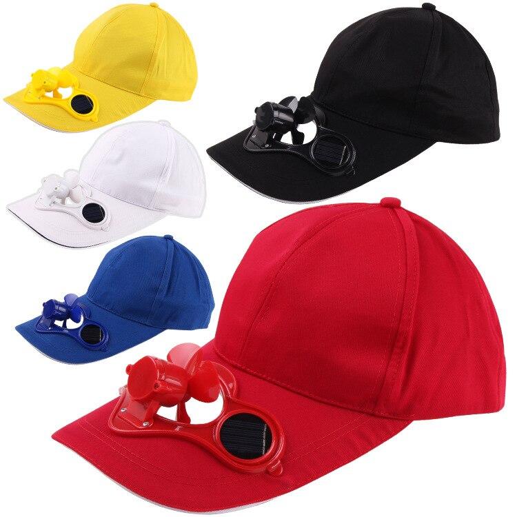 Hat Solar-Fan for Men And Women Duckbill-Hat Advertising-Cap