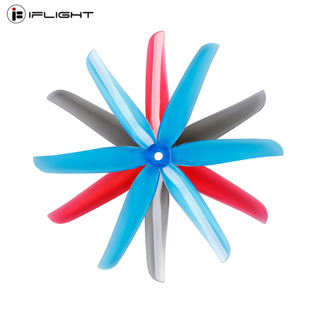 12Pairs 24PCS iFlight Nazgul 5140 3 blade Freestyle FPV Propeller CW CCW for ECO 2207 2306 Nazgul5 RC Drone FPV Racing|Parts & Accessories|   -