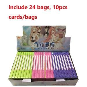 Image 1 - 240 hojas Miracle Nikki Anime acción Figura impresa tarjetas de papel de colección álbum creativo foto postal marcador tarjeta de felicitación