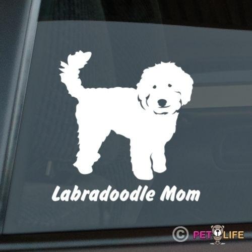 Labradoodle Mom Sticker Die Cut Vinyl - V2 Doodle Computer Decal