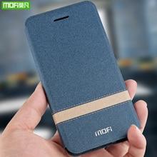 MOFi funda de silicona para Meizu 16X, Funda de cuero PU con tapa, funda protectora de lujo para Meizu 16th Plus, funda de teléfono para Meizu 16th