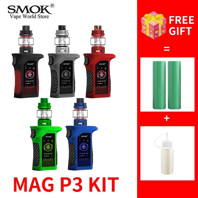 Vape SMOK Mag P3 Kit Cigarette Electronique MOD For TFV16 TANK Elektronik Sigara POD Sigaretta Elettronica Coil S3215