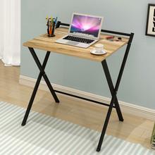 Składany komputer biurko oszczędność miejsca biurko do pracy w domu stół roboczy z półka do przechowywania wielofunkcyjne składane biurko szkolne # g30 tanie tanio 0831 Office High Density Fiberboard Laptop biurko Solid 60x50x75cm