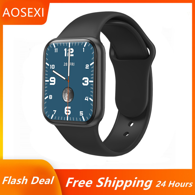 """Smart Watch For Men 1.57"""" Fitness Tracker Full Touch Bluetooth SmartWatch Women Heart Rate Monitor Clock Watches For iOS Android 1"""