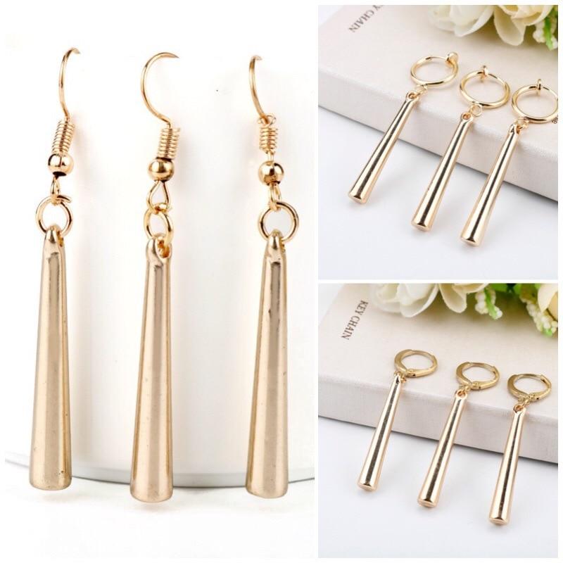3 Types Anime One Piece Roronoa Zoro Earrings For Women Men Earring Cosplay Jewelry Women Drop Earring Female Dangle Earing Gift