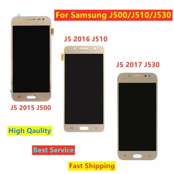 For Samsung J5 2017 J530 LCD For Samsung Galaxy J5 2015 J500 J5 2016 J510 LCD Display Touch Screen Digitizer Replacements image