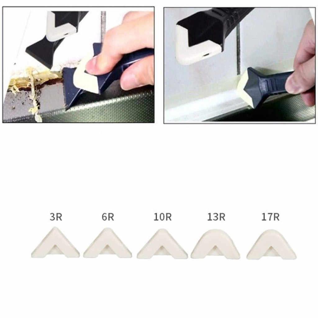 2 قطعة 3In1 سيليكون مزيل القلف التشطيب مانع التسرب السلس مكشطة الجص أدوات عدة الأسود نظيفة أداة إزالة