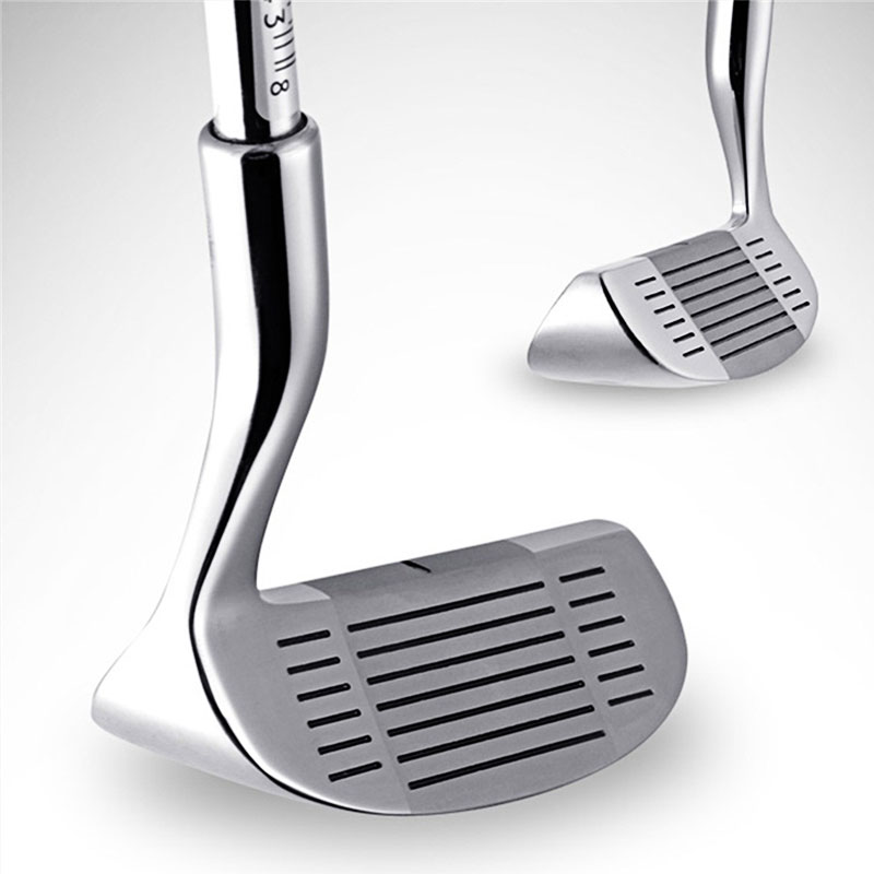 Golf Clubs Putters Double-side Chipper Putter Stainless Steel Head Push Rod For Men Women Outdoor Sport Chipping Golf Mallet Rod